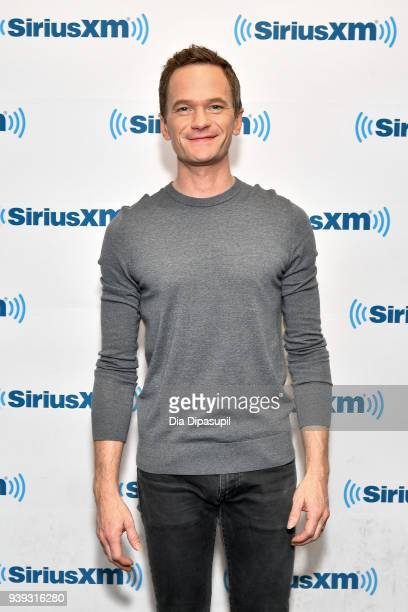 Neil Patrick Harris visits SiriusXM Studios on March 28 2018 in New York City
