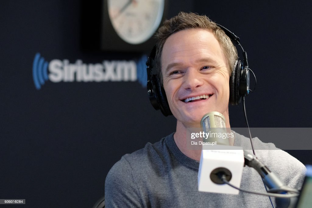 Neil Patrick Harris visits SiriusXM Studios on March 28, 2018 in New York City.