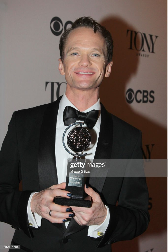 Neil Patrick Harris, winner of Tony Award For Best Actor In A Musical for 'Hedwig And The Angry Inch' poses in the press room during the American Theatre Wing's 68th Annual Tony Awards at Radio City Music Hall on June 8, 2014 in New York City.
