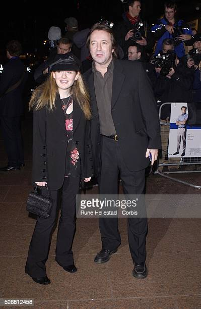 Neil Pearson and guest attend the London premiere of the movie 'Catch Me If You Can'