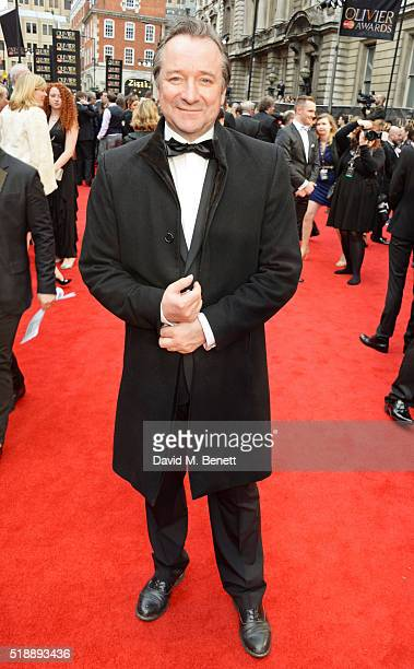 Neil Pearson arrives at The Olivier Awards with Mastercard at The Royal Opera House on April 3 2016 in London England