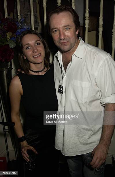 Neil Pearson attends the aftershow party following '24 Hour Plays' charity gala at the Old Vic Theatre on June 6 2004 in London Old Vic's new...