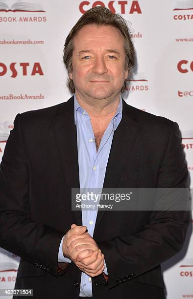 Neil Pearson attends the Costa Book of the Year award at Quaglinos on January 27 2015 in London England