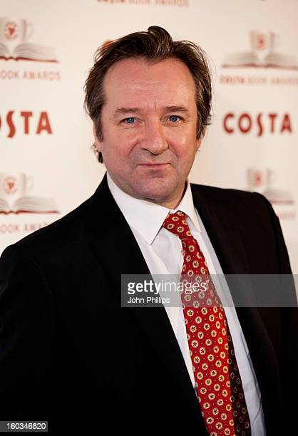 Neil Pearson attends the Costa Book of the Year awards at Quaglino's on January 29 2013 in London England