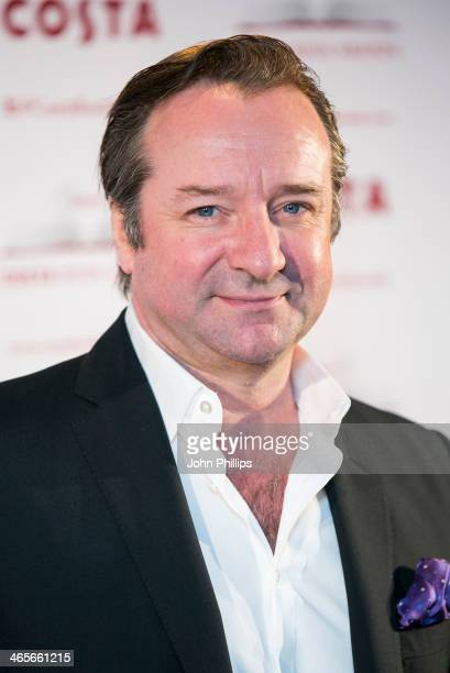 Neil Pearson attends the Costa Book of the Year awards at Quaglinos on January 28 2014 in London England