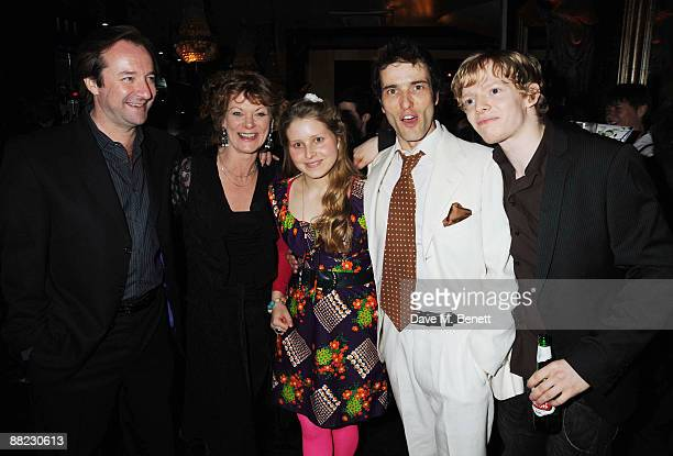 Neil Pearson Samantha Bond Jessie Cave Ed Stoppard and Hugh Mitchell attend the first night after party of Tom Stoppard's play Arcadia at Jewel in...