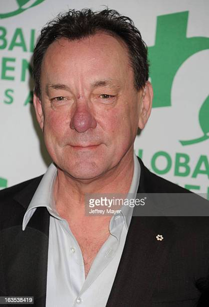 Neil Peart arrives at Global Green USA's 10th Annual PreOscar party at Avalon on February 20 2013 in Hollywood California
