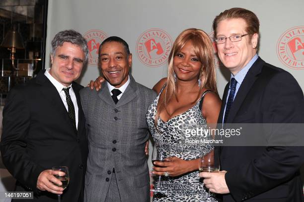 Neil Pepe Giancarlo Esposito Tonya Pinkins and Jeffrey Lawson attend Storefront Church Opening Night After Party at Abe Arthur's on June 11 2012 in...