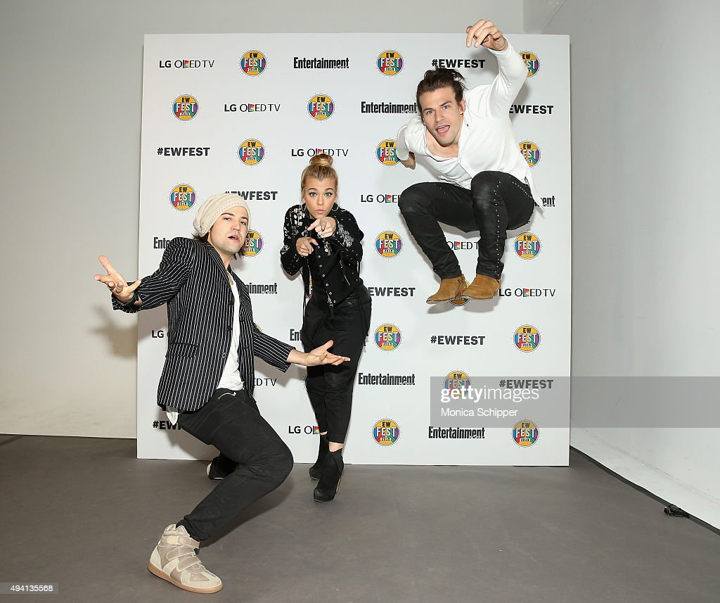Neil Perry, Kimberly Perry and Reid Perry of The Band Perry attend Entertainment Weekly's first ever 'EW Fest' presented by LG OLED TV on October 24, 2015 in New York City.