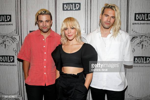 Neil Perry Kimberly Perry and Reid Perry of The Band Perry attend the Build Series to discuss 'The Good Life' at Build Studio on July 26 2019 in New...