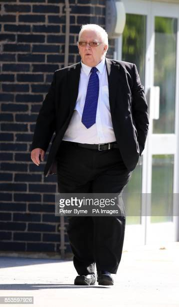 Neil Pheonix New Broughton Wrexham arrives at Mold Magistrates Court Flintshire North Wales where he appeared accused of sex offences after an...