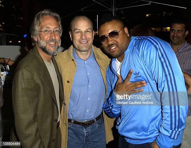 Neil Portnow, Barry Weiss and Aries Spears during Zomba Label Group/Alize Bleu Pre-BET Awards Celebration at Standard Hotel in Los Angeles,...