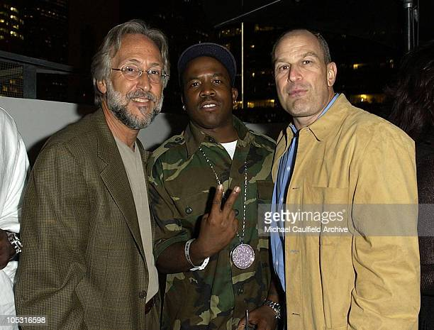 Neil Portnow, Big Boi of Outkast and Barry Weiss during Zomba Label Group/Alize Bleu Pre-BET Awards Celebration at Standard Hotel in Los Angeles,...