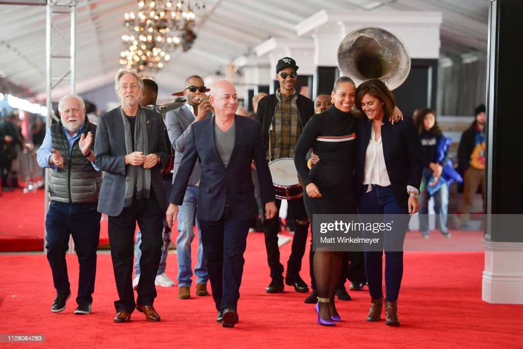 CA: 61st Annual Grammy Awards Red Carpet Roll Out And Preview Day