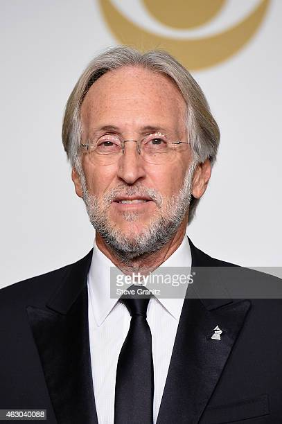 Neil Portnow poses in the Deadline Photo Room during The 57th Annual GRAMMY Awards at the STAPLES Center on February 8 2015 in Los Angeles California