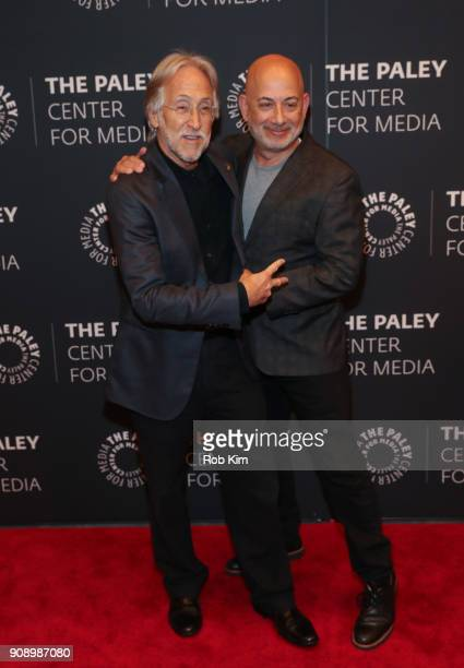 Neil Portnow President and CEO The Recording Academy and Jack Sussman executive vice president Specials Music and Live Events CBS Entertainment...