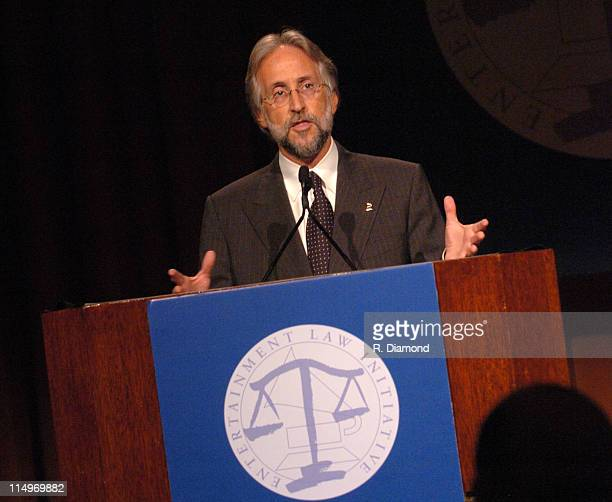 Neil Portnow President of the Recording Academy during GRAMMY Entertainment Law Initiative February 11 2005 at Regent Beverly Wilshire Hotel in...