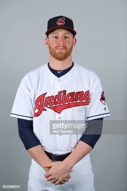 Neil Ramirez of the Cleveland Indians poses during Photo Day on Wednesday February 21 2018 at Goodyear Ballpark in Goodyear Arizona