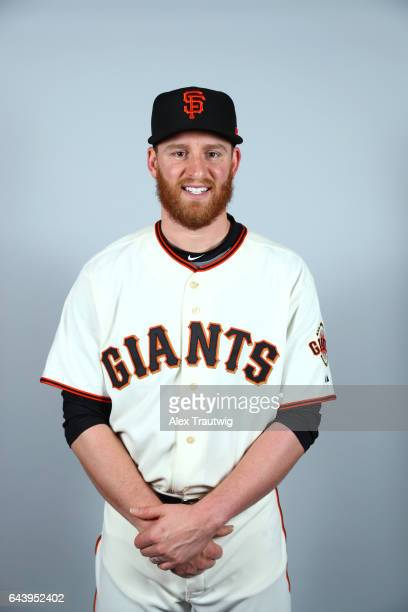 Neil Ramirez of the San Francisco Giants poses during Photo Day on Monday February 20 2017 at Scottsdale Stadium in Scottsdale Arizona