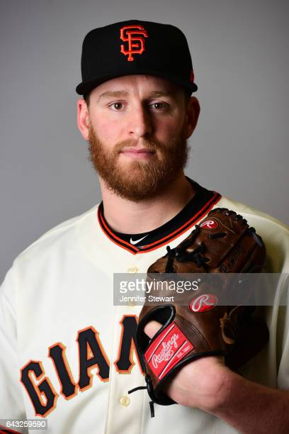 Neil Ramirez of the San Francisco Giants poses for a portait during a MLB photo day at Scottsdale Stadium on February 20 2017 in Scottsdale Arizona