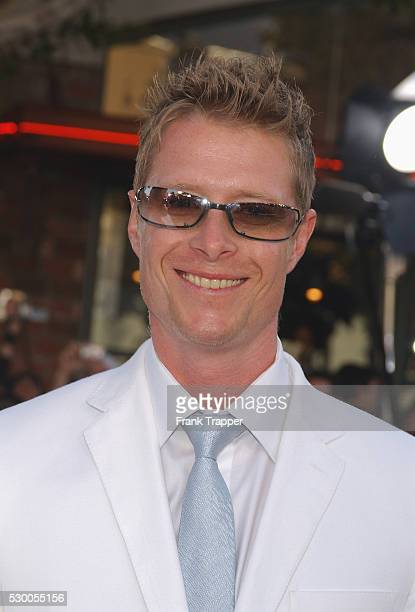 Neil Rayment arriving at the premiere of 'The Matrix Reloaded'
