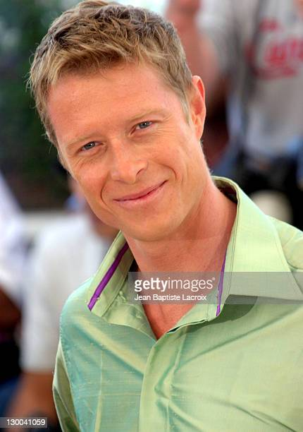 Neil Rayment during 2003 Cannes Film Festival 'Matrix Reloaded' Photo Call at Palais des Festivals in Cannes France