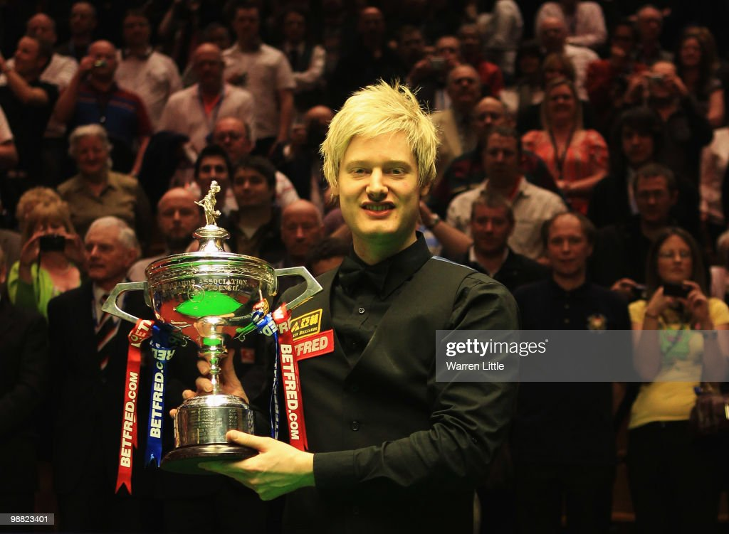 Betfred.com World Snooker Championships - Final : News Photo