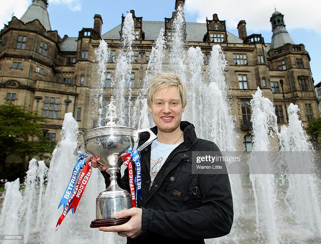 Betfred World Snooker Championship Photocall