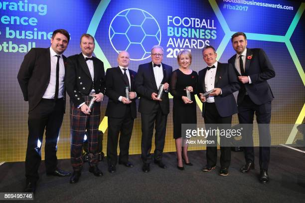Neil Rowe Head of Partnerships FC Business Duncan Fraser CEO of Aberdeen FC Andy Mullen Sheffield United FC John Kay CEO Preston North End FC Donna...