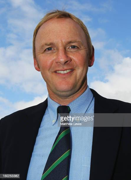 Neil Rowlands of Broadstone Golf Club pictured after winning the Lombard Challenge Regional Qualifier at Woodbury Park Golf Club on August 13 2012 in...