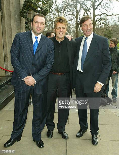 Neil Ruddock Mike Read and Lord Brocket