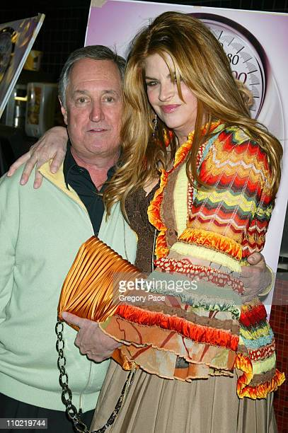 Neil Sedaka and Kirstie Alley during Showtime's Fat Actress New York City Premiere Inside and Red Carpet Arrivals at Clearview Chelsea West in New...