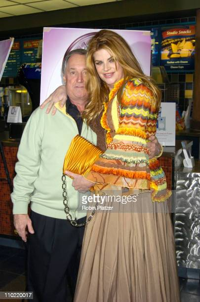Neil Sedaka and Kirstie Alley during Showtime's Fat Actress New York City Premiere Inside Arrivals at Clearview Chelsea West in New York City New...
