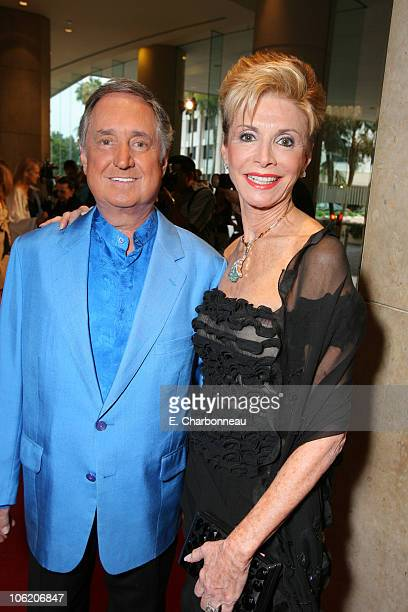 Neil Sedaka and Leba Sedaka during Juvenile Diabetes Research Foundation Annual Gala at Beverly Hilton Hotel in Beverly Hills California United States