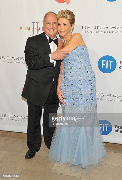Neil Sedaka and Leba Strassberg attend FIT's Annual Gala to Honor Dennis Basso, John and Laura Pomerantz and QVC at the Grand Ballroom at The Plaza...