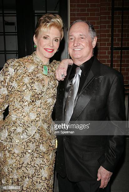 Neil Sedaka and wife attend the opening night of All About Me on Broadway at Henry Miller's Theatre on March 18 2010 in New York City