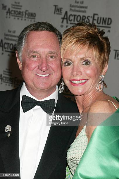 """Neil Sedaka and wife Leba Sedaka during The Actors Fund """"There's No Business Like Show Business"""" Gala at Cipriani 42nd Street in New York City, New..."""