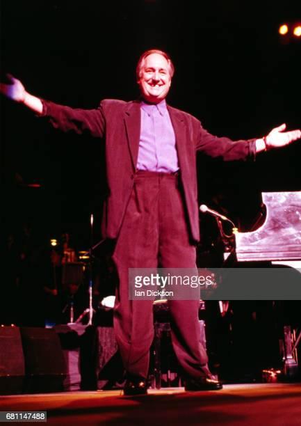 Neil Sedaka performing on stage at Royal Albert Hall London 01 April 1992