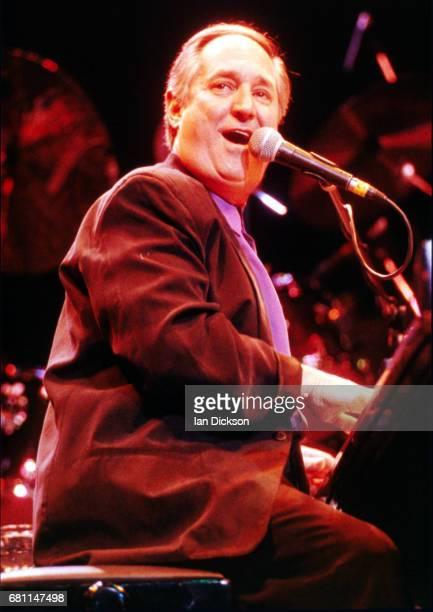 Neil Sedaka performing on stage at Royal Albert Hall, London, 01 April 1992.