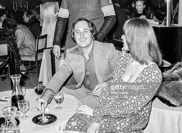 Neil Sedaka photographed at a reception for The Pointer Sisters at the Biba Restaurant in Kensington London on 10th January 1974