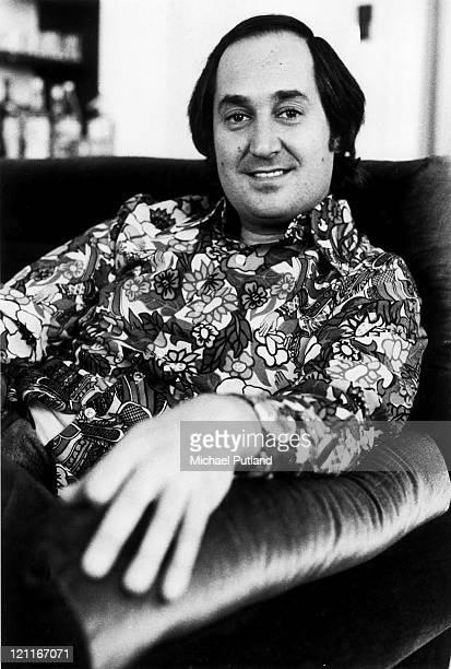 Neil Sedaka portrait London 13th April 1973