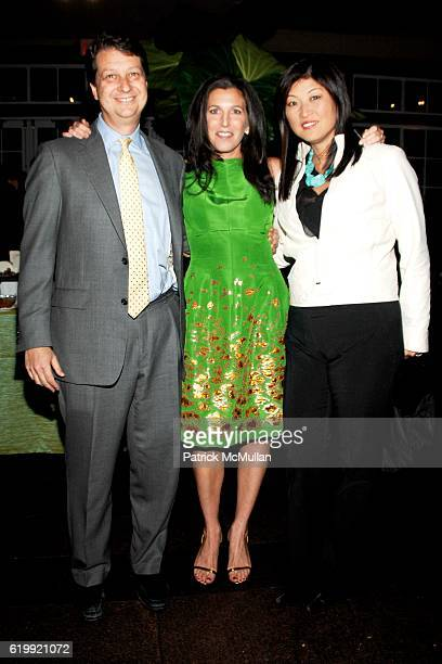 Neil Shapiro Sloan Barnett and Juju Chang attend SLOAN BARNETT Publication Party for Green Goes with Everything Hosted by Caryn Jeff Zucker at The...