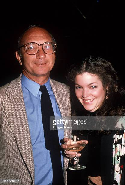 Neil Simon and Amy Irving circa 1981 in New York City