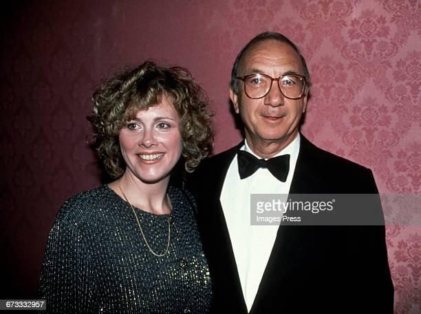 Neil Simon and wife Diane Lander circa 1990 in New York City