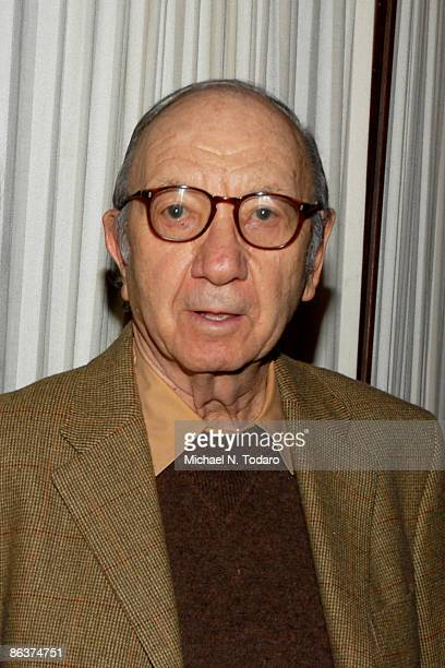Neil Simon attends the 25th Anniversary of Creative Alternatives of New York at the Loeb Central Park Boathouse on May 4 2009 in New York City