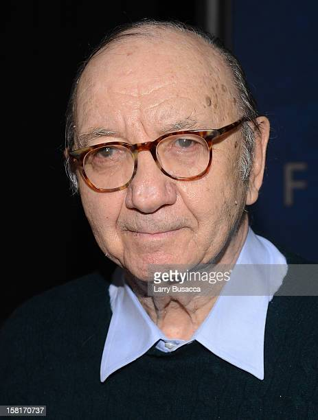 Neil Simon attends the Les Miserables New York premiere at Ziegfeld Theater on December 10 2012 in New York City