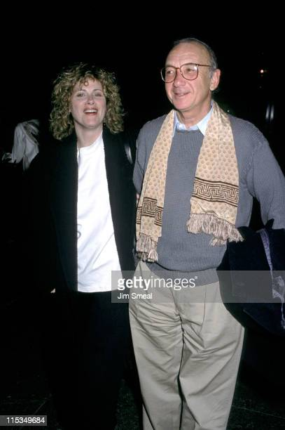 Neil Simon Diane Lander during Premiere of Mountains On The Moon at Directors Guild in Los Angeles California United States