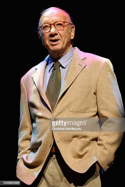 Neil Simon during 2003/2004 TNT/TBS Superstation UPFront Event at Cipriani 42nd Street in New York City New York United States