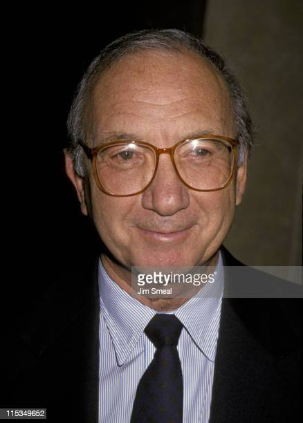 Neil Simon during 5th Annual Governor's Awards at Beverly Hilton Hotel in Beverly Hills California United States