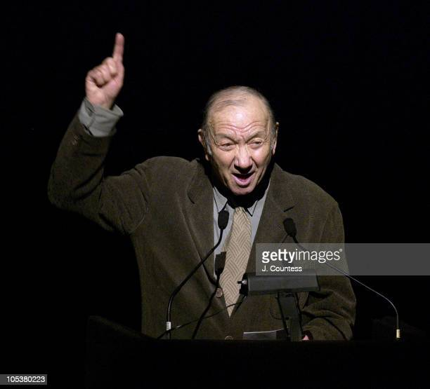 Neil Simon during ASCAP Celebrates the Life and Works of Cy Coleman at Majestic Theatre in New York City New York United States